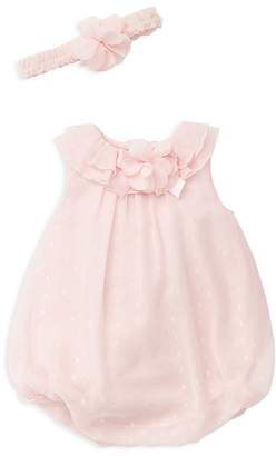 Little Me Girls' Sparkle Bubble & Headband Set - Baby