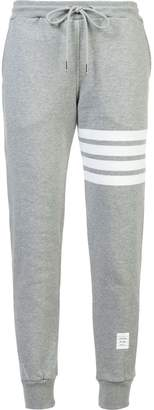 Thom Browne Classic Sweatpants In Classic Loop Back With Engineered 4-Bar