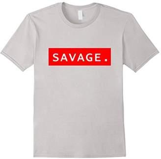 Savage T-Shirt Graphic Logo