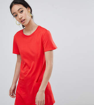 Monki Pocket Detail T-Shirt Dress