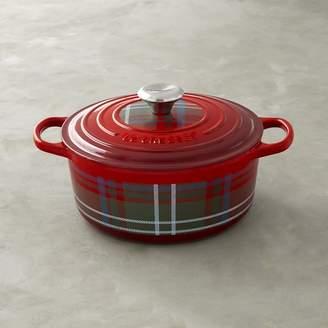 Le Creuset Signature Tartan Cast-Iron Round Dutch Oven