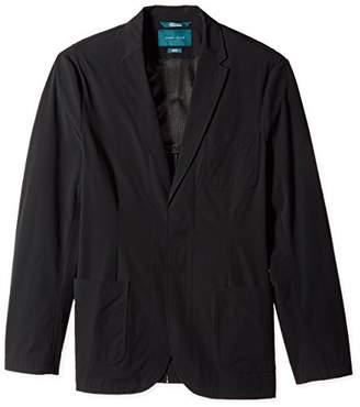 Perry Ellis Men's Big Tall Fit Solid Tech Stretch Jacket