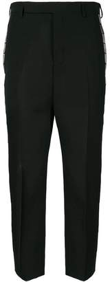Rick Owens bar side panel tapered trousers