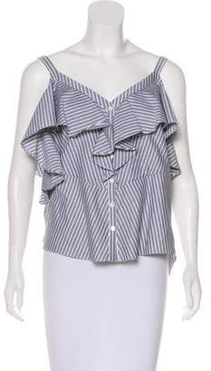 Veronica Beard Grant Off-The-Shoulder Top w/ Tags