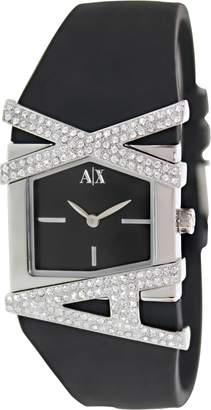 Armani Exchange A|X  Women's AX3121 Silicone Quartz Watch with Dial