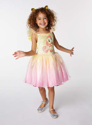 My Little Pony Tu Clothing Pink and Yellow Fluttershy Costume