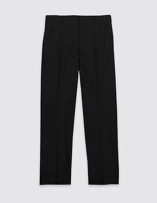 Marks and Spencer Senior Boys' Plus Fit Slim Leg Trousers