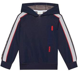 Fendi Kids MANIA cotton-blend hoodie