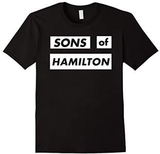 Sons of Hamilton T-Shirt Men and Women