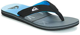 Quiksilver MOLOKAI LAYBACK M SNDL XKSB men's Flip flops / Sandals (Shoes) in Black