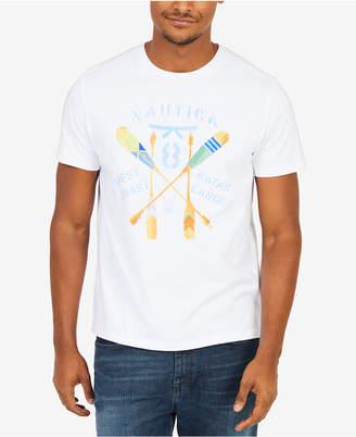 Nautica Men's Kayak Oars Graphic T-Shirt