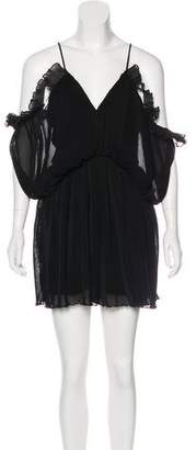 Alice McCall Ribbed Mini Dress