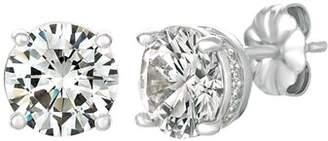 Crislu Royal Brilliant Cut Stud Earrings