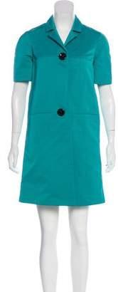 Marni Button-Up Knee-Length Dress