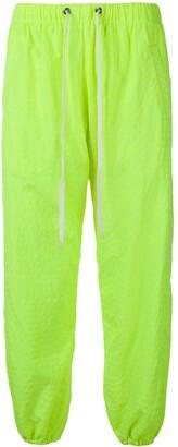 Duo neon green jogging pants