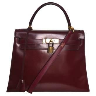Hermes Kelly 28 Leather Crossbody Bag