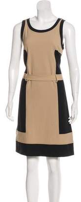 Fendi Colorblock Sheath Dress