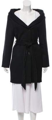 Chalayan Belted Knee-Length Coat w/ Tags
