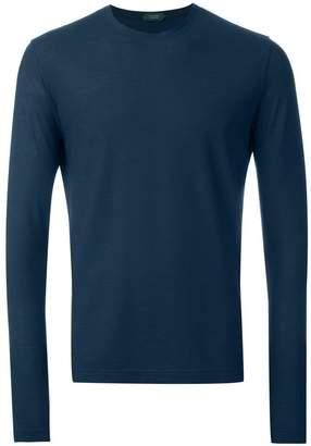 Zanone long sleeved T-shirt