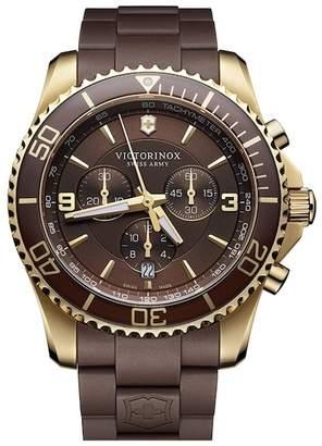 Victorinox Men's Maverick Swiss Quartz Watch, 43mm