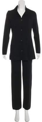 Loro Piana Silk High-Rise Pantsuits