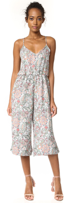 cupcakes and cashmere Gale Paisley Floral Cropped Jumpsuit $135 thestylecure.com