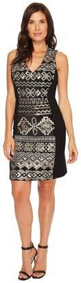 Karen Kane Sequin Sheath Dress Women's Dress