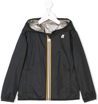 K Way Kids reversible hooded jacket