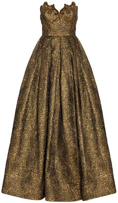 Andrew Gn Princess Bustier Gown