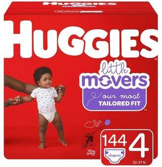 Huggies Little Movers Diapers Economy Plus Pack (Select Size)