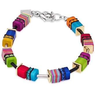 Coeur de Lion Geo Cube Fantasy Multicoloured Bracelet 4746/30-1500