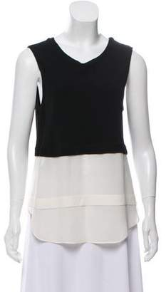 A.L.C. Colorblock Sleeveless Blouse