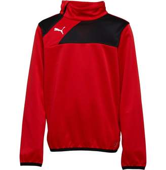 Puma Junior Boys Esquadra 1/2 Zip Training Top Red/Black