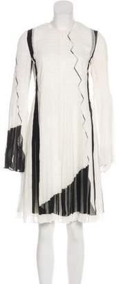 Akris Silk Knee-Length Dress