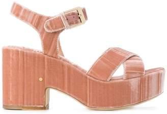 Laurence Dacade Nadine velvet sandals