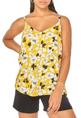 Dorothy Perkins Floral-Print Camisole
