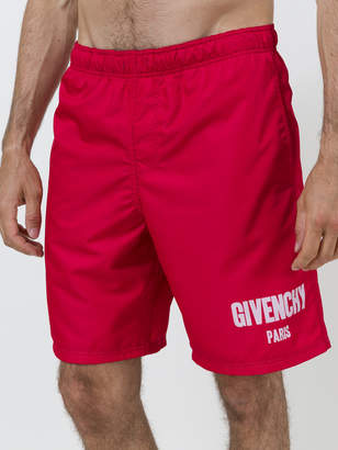 Givenchy Logo swimshorts