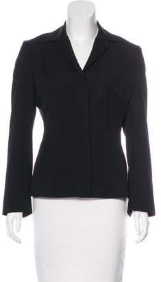 Dolce & Gabbana Fitted Virgin Wool Blazer