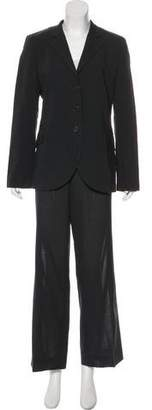 Akris Punto Wool Long Sleeve Pantsuits