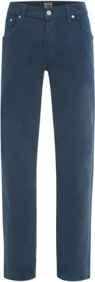 Citizens of Humanity Coated Mid-Rise Slim-Leg Jeans