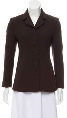 Prada Wool Button-Front Blazer