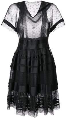 Philosophy di Lorenzo Serafini flared style dress
