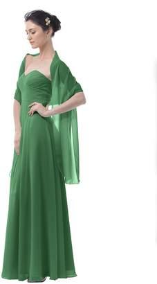 Remedios Soft Chiffon Shawl Bridal Wedding Wrap Women's Evening Dress Scarves,79*24''
