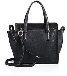 f7068c74ff Salvatore Ferragamo Women s Amy Mini Pebbled Leather Tote