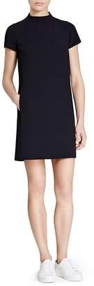 Theory Jasneah Crepe Mini Dress
