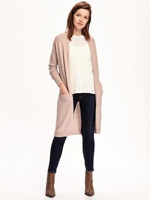 Relaxed Open-Front Long Sweater for Women $39.94 thestylecure.com