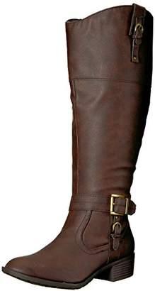 Rampage Women's Ivelia Fashion Knee High Casual Riding Boot