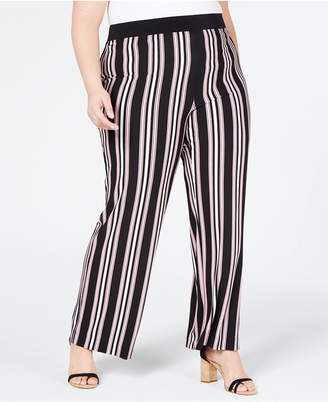 962ce42a058 INC International Concepts I.n.c. Plus Size Striped Soft Pants