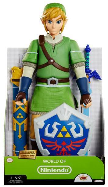 Nintendo Zelda Link Deluxe Articulated Big Figure