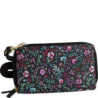Buxton Enchanted Floral RFID Ultimate Organizer